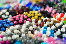 Free Many Color Bead. Royalty Free Stock Images - 33826869