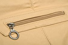 Free Zippers From Women Purse Stock Image - 33827011