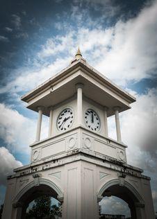 Free Clock Tower, Phuket, Thailand Stock Photo - 33844110