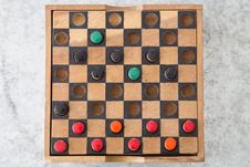 Free Wooden Board Game Royalty Free Stock Images - 33856799