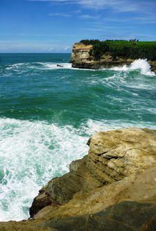 Free Klayar Beautiful Beach Royalty Free Stock Photos - 33857868