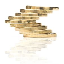 Free Stack Of Coins Stock Images - 33860954