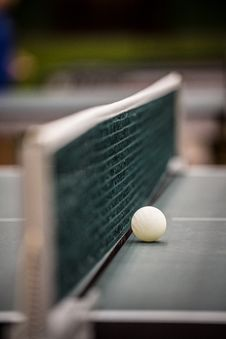 Free Net In Table Tennis Stock Image - 33861501