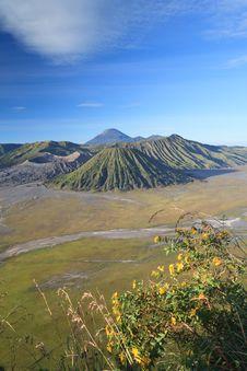 Bromo Volcano Mountain Royalty Free Stock Photo