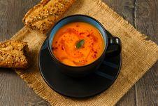 Free Pumpkin Soup Stock Images - 33869774