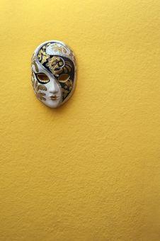 Free Beautiful Elegant Venetian Mask Royalty Free Stock Photography - 33871277