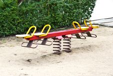 Free Seesaw Stock Image - 33871441
