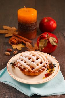 Free Apple Pie Stock Photography - 33871842