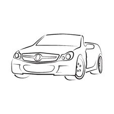Free Vector Car Cabriolet Royalty Free Stock Photography - 33892237