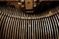 Free Vintage Typewriter Key Arms Stock Photos - 3399973