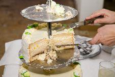Free Wedding Cake Royalty Free Stock Photo - 3390205