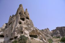 Free Cappadocia Rock Landscapes Royalty Free Stock Photos - 3390238