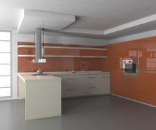 Free Kitchen Royalty Free Stock Photo - 3390375