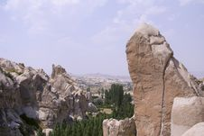 Free Cappadocia Rock Landscapes Royalty Free Stock Image - 3390396