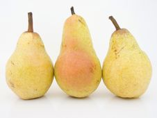 Free Three Pears Stock Photography - 3390432