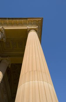 Detail Of Classical Column Royalty Free Stock Photo