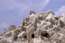 Cappadocia Rock Landscapes Royalty Free Stock Image