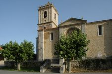 Curch In Spain Royalty Free Stock Photography