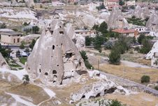 Free Cappadocia Rock Landscapes Royalty Free Stock Photography - 3390587