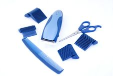 Hair Grooming Tools Stock Image