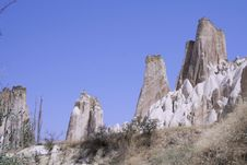 Free Cappadocia Rock Landscapes Stock Photos - 3391053