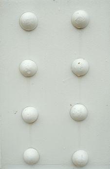 Free White Bridge Girder Stock Photography - 3391092