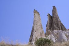 Free Cappadocia Rock Landscapes Stock Photos - 3391193