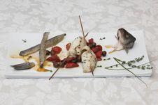 Free Skewer Fish Stock Images - 3391324
