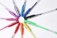 Free Pen On White Stock Photo - 3391350