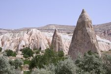 Free Cappadocia Rock Landscapes Royalty Free Stock Image - 3391416