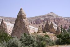 Free Cappadocia Rock Landscapes Royalty Free Stock Images - 3391469