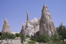 Free Cappadocia Rock Landscapes Royalty Free Stock Images - 3391509