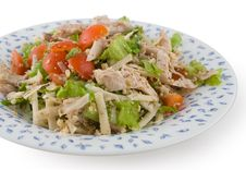 Free Salad In Plate Stock Photo - 3391750