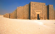 Free Djoser Funerary Complex Stock Photography - 3391822