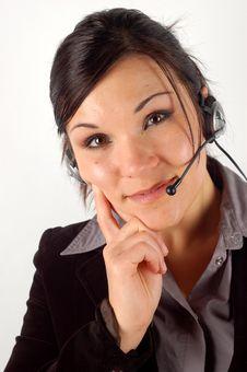 Free Friendly Operator 15 Stock Photo - 3391980