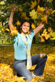 Free Happy Fall Royalty Free Stock Image - 3392316