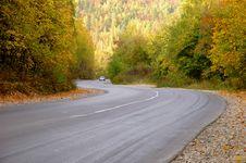 Free Autumn Road Royalty Free Stock Photos - 3392388