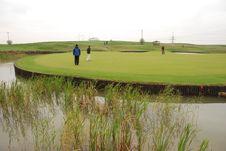 Free Golf Playground Stock Photo - 3392460
