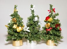 Free Artificial Christmas Trees Royalty Free Stock Images - 3392489