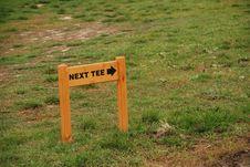 Free Golf Playground - Next Tee Royalty Free Stock Photos - 3392688