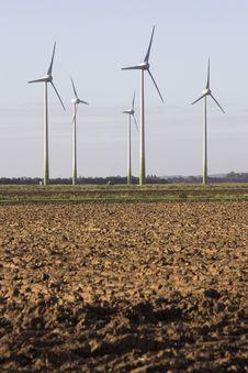 Free Wind Turbines Stock Photography - 3393362