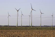 Free Wind Turbines Stock Image - 3393431
