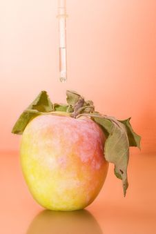 Apple Vaccination Royalty Free Stock Photography