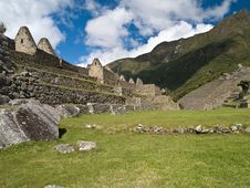 Free Machu Picchu Royalty Free Stock Photo - 3393735