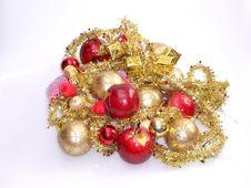 Free Christmas-tree Decorations Royalty Free Stock Photo - 3394135