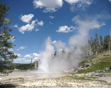 Free Grand Geyser Royalty Free Stock Photo - 3394295
