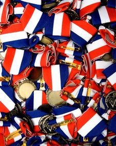 Music Medals Stock Photo
