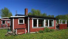 Free Summer House Stock Image - 3394341