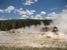 Grotto Geyser Royalty Free Stock Image