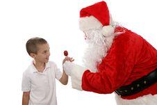 Free Thank You Santa Royalty Free Stock Photos - 3394488